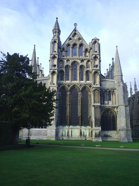 Ely Cathedral Rear (East)