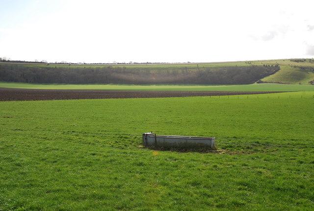 Farmland behind Manor Farm