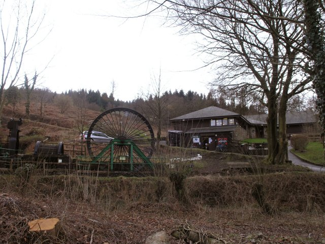 Mining museum at Afan Argoed Country Park