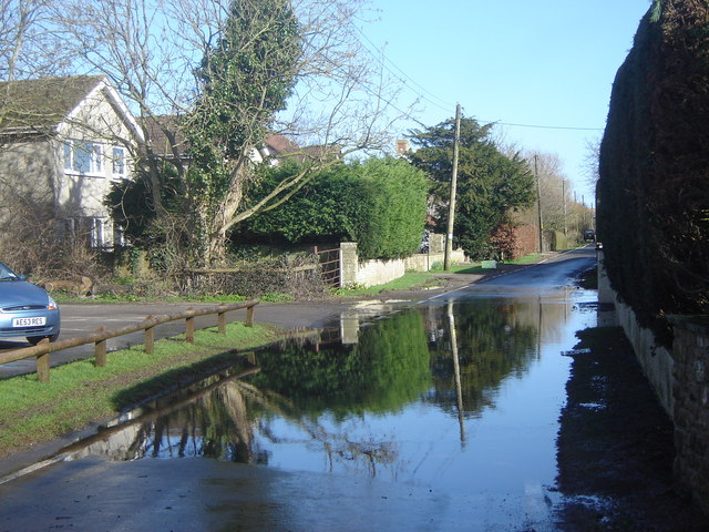 Flooded Road, Redwick