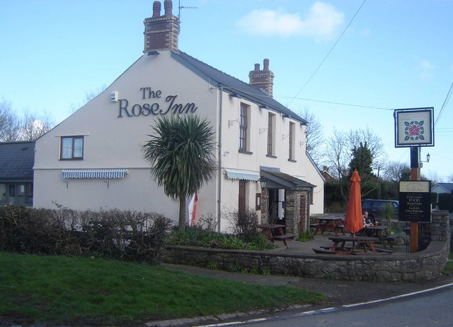 Rose Inn, Redwick, Monmouthshire