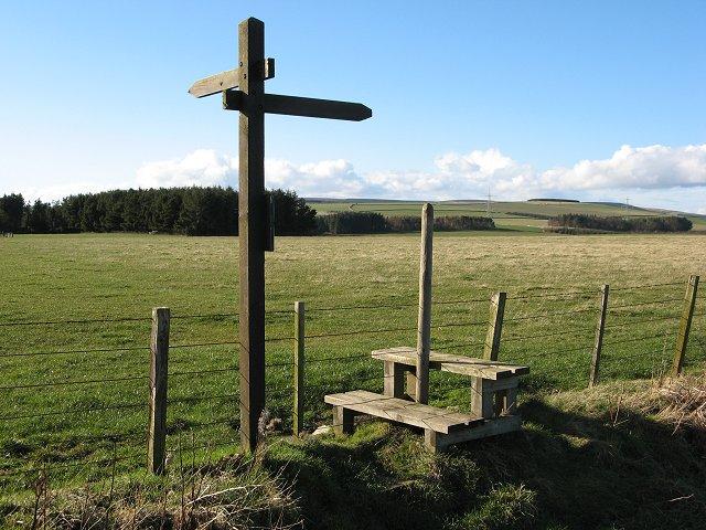 Southern Upland Way, Quixwood Moor