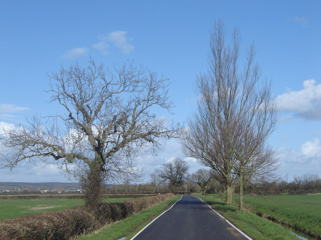 Road out of Redwick, Monmouthshire