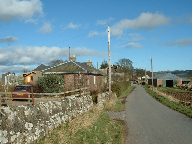 Rural Buildings at south side of West Kinnochtry