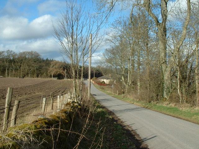 Rural Scene by East Kinnochtry