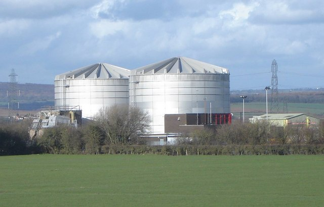 Sewage Works, Magor, Monmouthshire