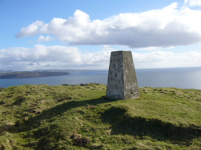 St Blanes Hill trig