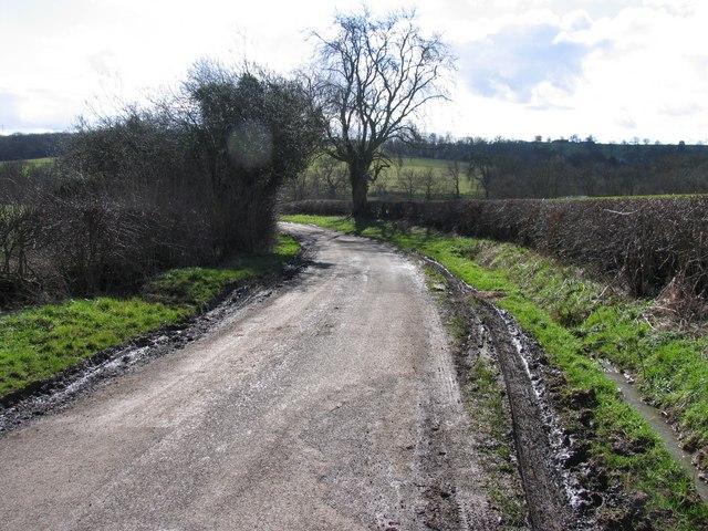 Towards Launde Abbey