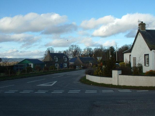 Road Junction Campmuir