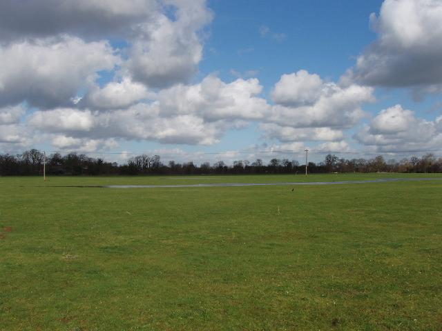 Wet field in Gosford