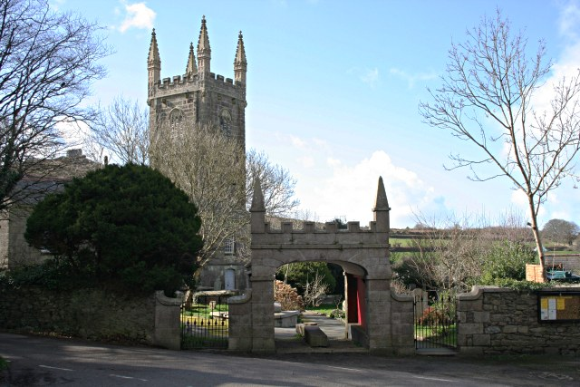 St Uny's Church, Lych Gate and Tower