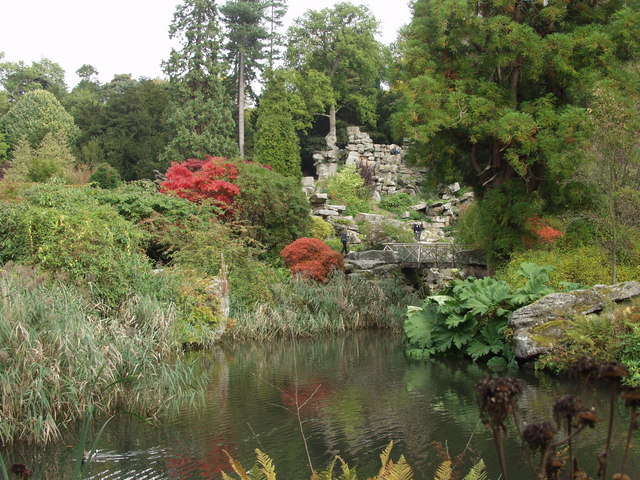 Chatsworth Gardens Rockery