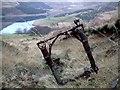 SE0102 : Douglas Dakota wreckage of undercarriage by John Fielding