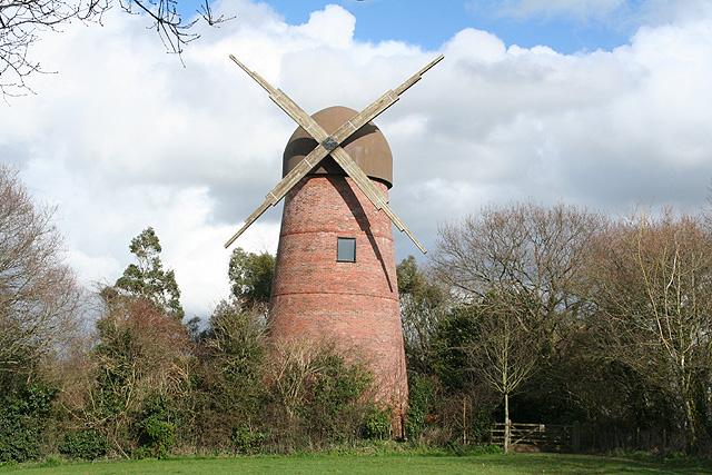 Ashill: replica windmill