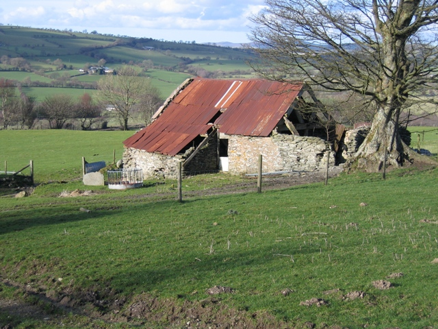 Old Barn at Pen-y-bryn