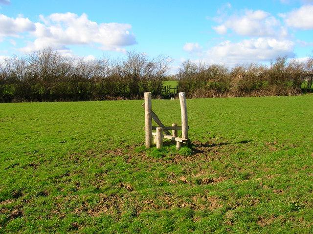 Lonely Stile near Rock Harbour Farm