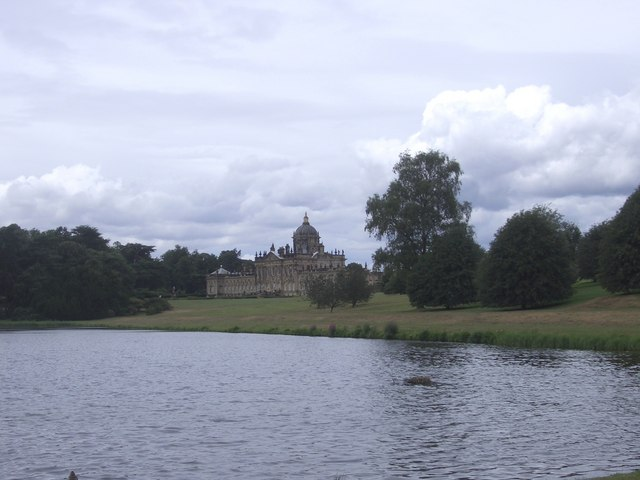 Castle Howard Across The Lake