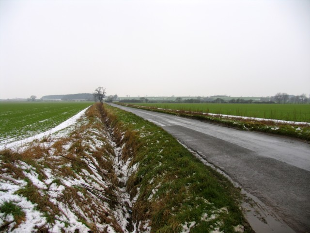 Roman Road towards Howson's Lodge
