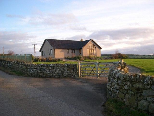 Newly built house - Easter Culbo