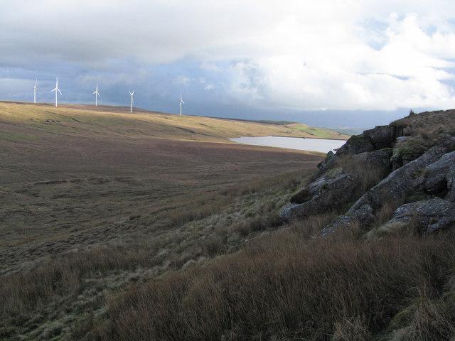 Eastern Kaim Hill Crags.