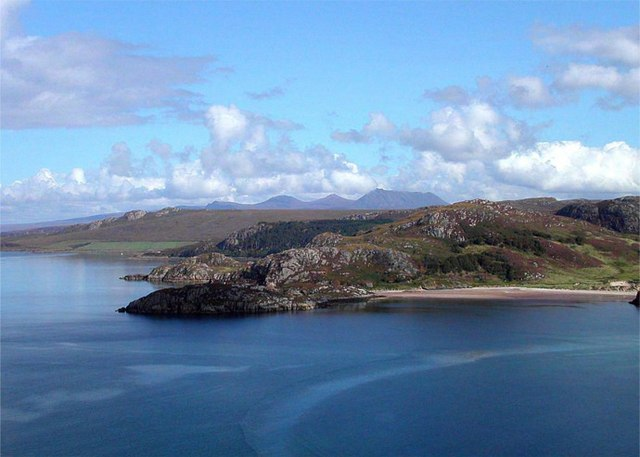Across Gruinard Bay