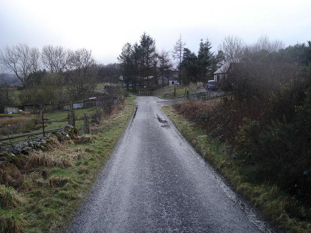 Looking southwest towards Ardconnel Farm