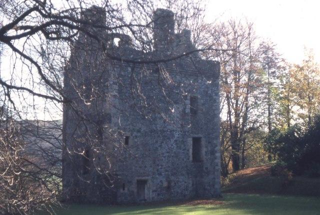 Knockdolian Castle nr Colmonell
