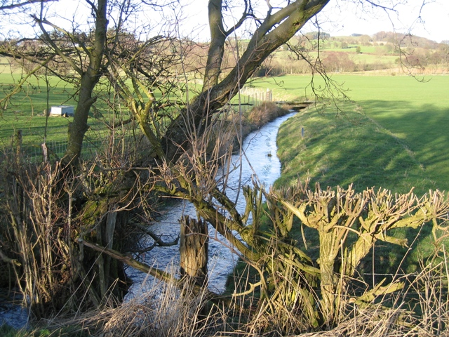 Stream near the A5104
