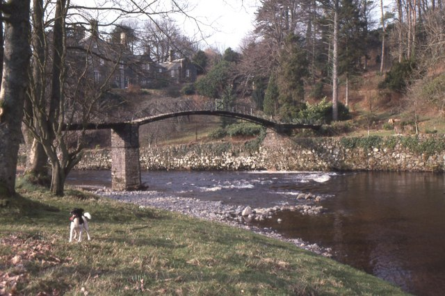 Bridge crossing River Stinchar below Knockdolian House