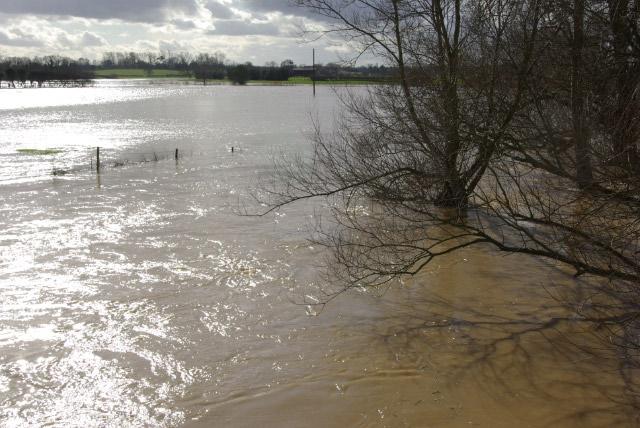 River Avon in Flood, Bretford
