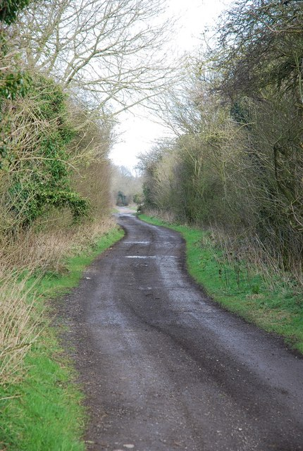 Old Shaftsbury Drove - leaving Compton Down