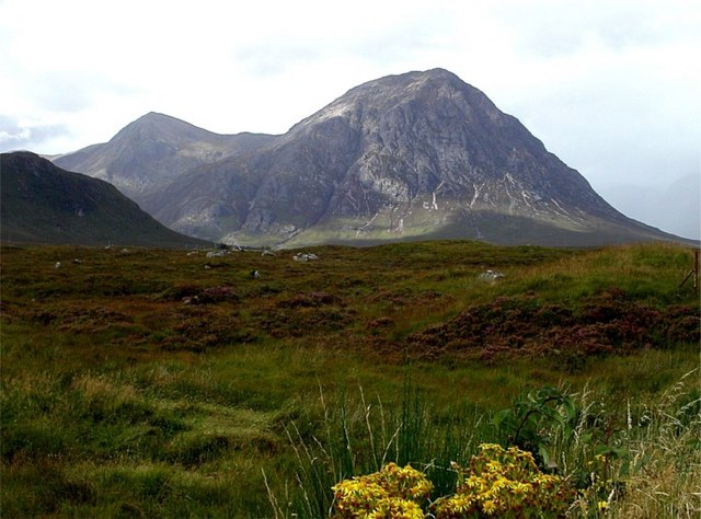 Moorland on the approach to Buachaille Etive Mor