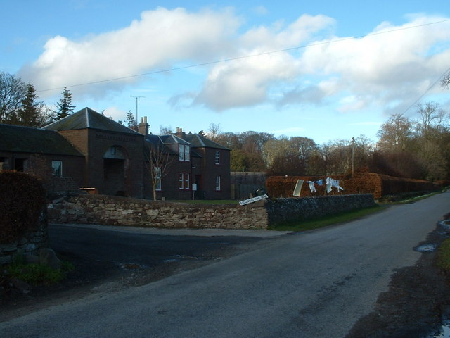 Balgersho Home Farm entrance