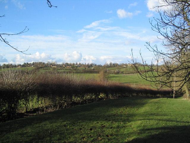 Bridleway north to Knossington