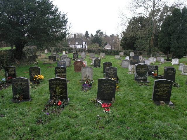 Cressage Graveyard