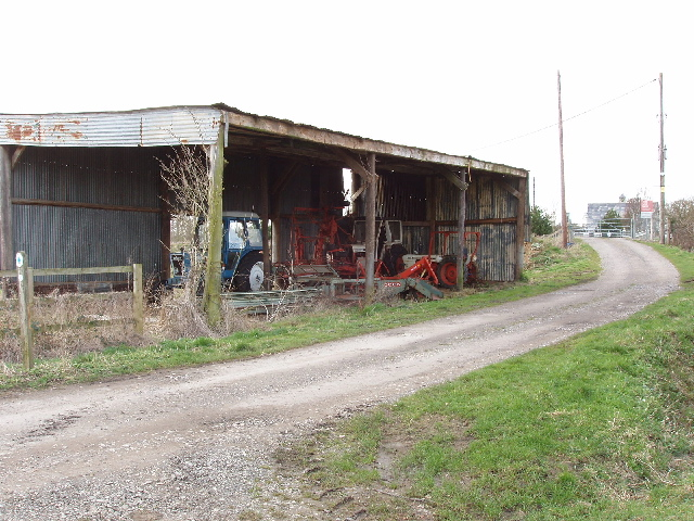 Barn and level crossing