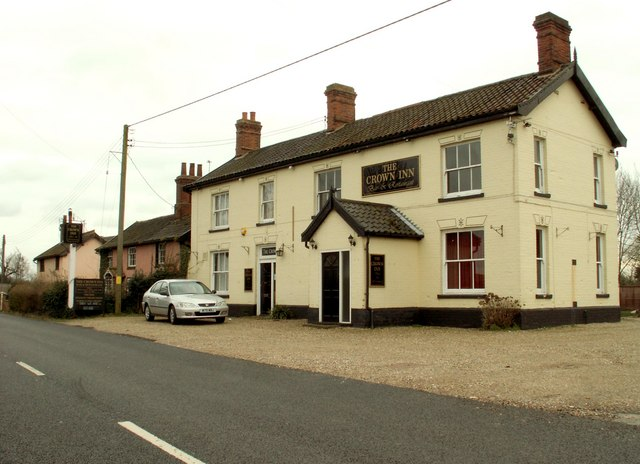 'The Crown Inn' at Weybread