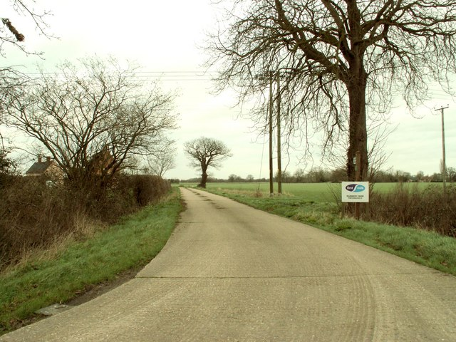 Road to Nunnery Farm