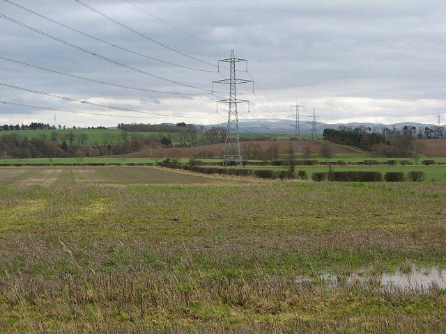 Stubble near Leitholm