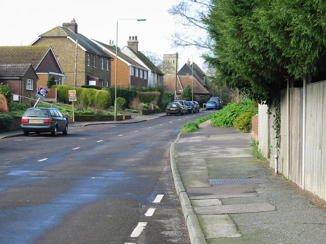 View along Monkton Street, Monkton