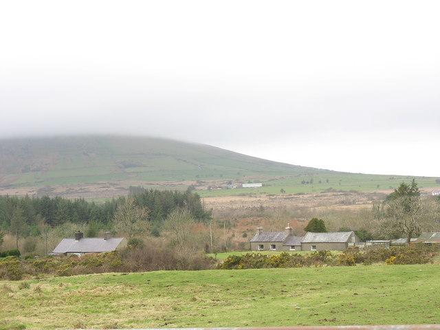 Roadside smallholdings at Bwlch Derwin