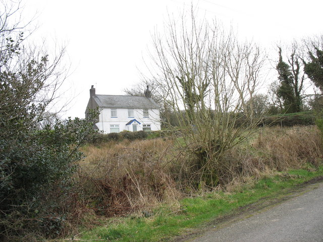 Y Bryn - a traditional double-fronted house