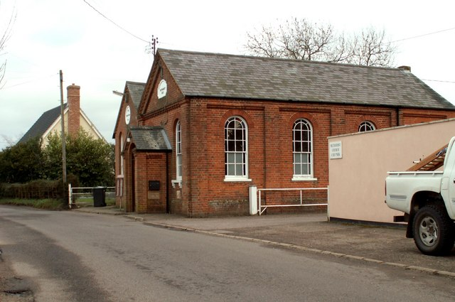 Fressingfield's Methodist Church