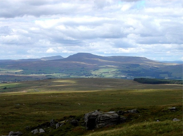 Moorland from Bowland Knotts