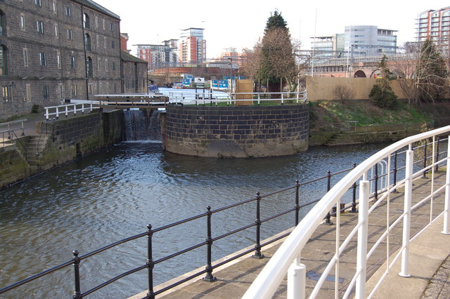 Leeds Liverpool Canal. The end
