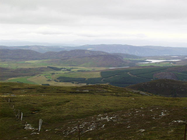 Nearing the summit of Beinn Buidhe, looking north towards Stac Gorm