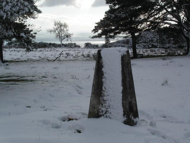 Fortrose Hill trig point
