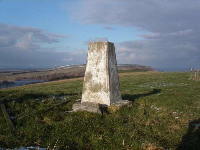 Gallow Hill trig point