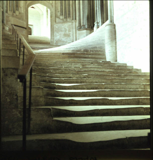 Wells Cathedral, Chapter House Steps