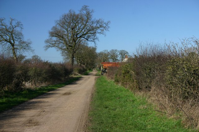 Mill Lane, Garboldisham Common
